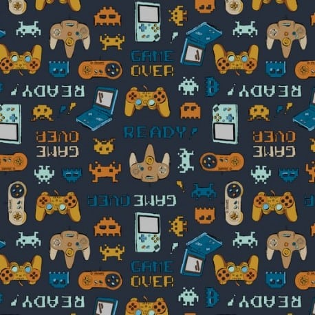 ΖΕΡΣΕΪ ORGANIC GAME OVER - NAVY