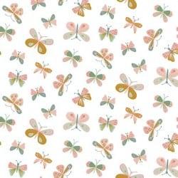 MAYA FLOWERS - ECRU