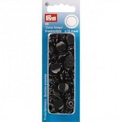 Πλαστικά κουμπώματα Κύκλος Μαύρο