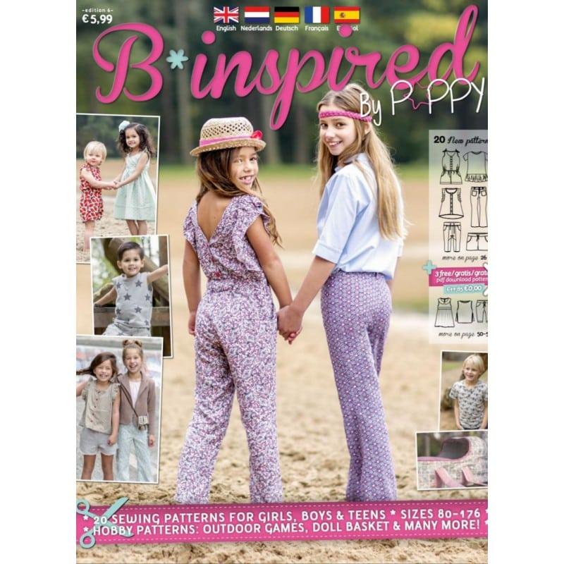 0ee5cb9bafe1 Περιοδικό με πατρόν για παιδικά ρούχα και αξεσουάρ