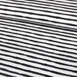 STRIPES BLACK IN WHITE