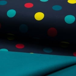 SOFT SHELL DOTS NAVY