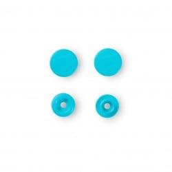 Πλαστικά κουμπώματα Κύκλος Τυρκουαζ