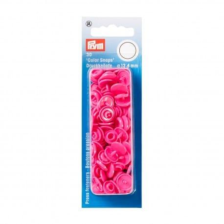 Πλαστικά κουμπώματα Κύκλος Φούξια