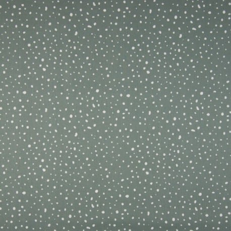 ORGANIC DOTS DUSTY MINT