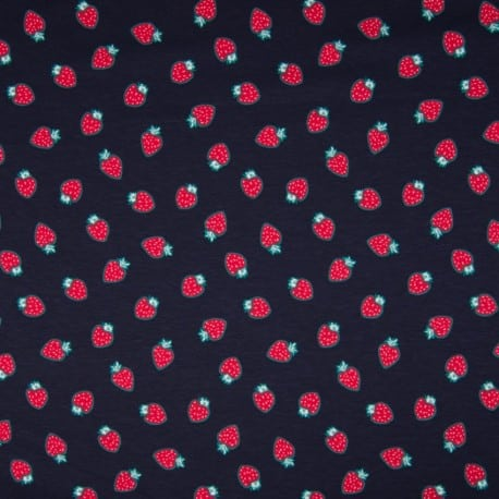 JERSEY FRUIT WITH SMELL STRAWBERRY, NAVY