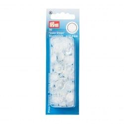 Πλαστικά κουμπώματα Κύκλος Διαφανο