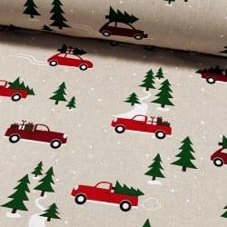 CHRISTMAS CARS HALF PANAMA