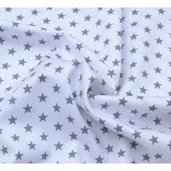 Αστέρια  Γκρι σε λευκό