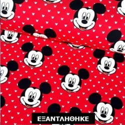 MICKEY MOUSE RED, baby φουτερ