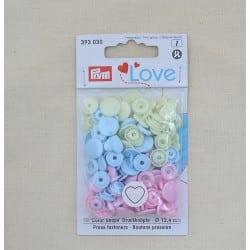 Πλαστικά κουμπώματα Καρδούλα