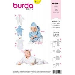 ΠΑΤΡΟΝ BURDA 9478