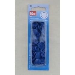 Πλαστικά κουμπώματα Κύκλος Μπλε
