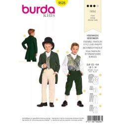 ΠΑΤΡΟΝ BURDA 9528
