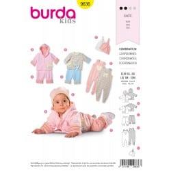 ΠΑΤΡΟΝ BURDA 9636