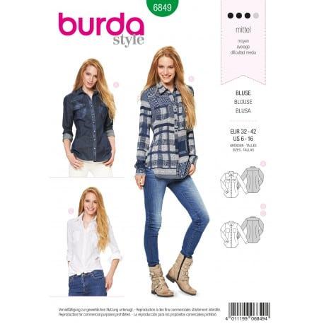 ΠΑΤΡΟΝ BURDA 6849