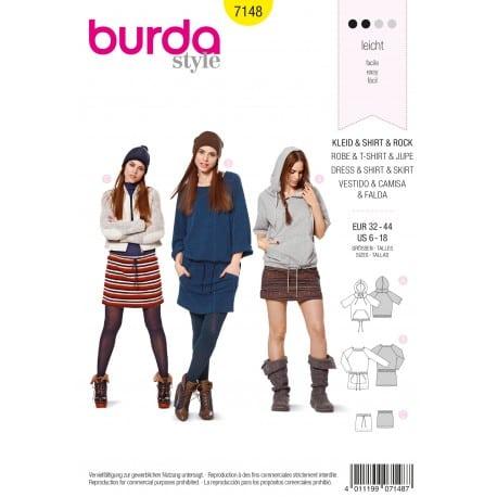 ΠΑΤΡΟΝ BURDA 7148
