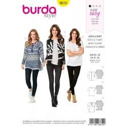 ΠΑΤΡΟΝ BURDA 6610