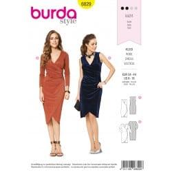 ΠΑΤΡΟΝ BURDA 6829