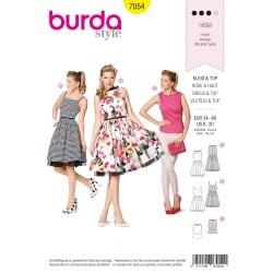 ΠΑΤΡΟΝ BURDA 7054