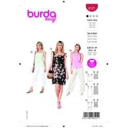 ΠΑΤΡΟΝ BURDA 6121